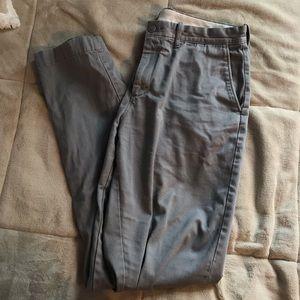 J.Crew 34x34 Grey Khakis